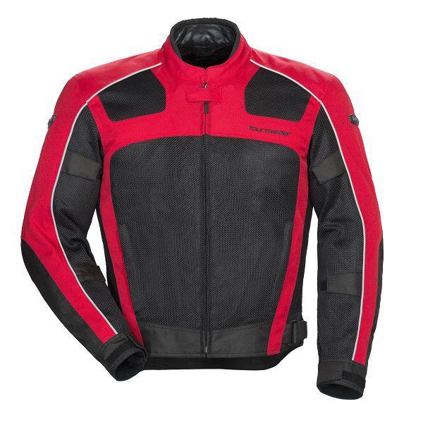 Tourmaster Draft Air Series 3 Mens Textile Jacket Black/Red