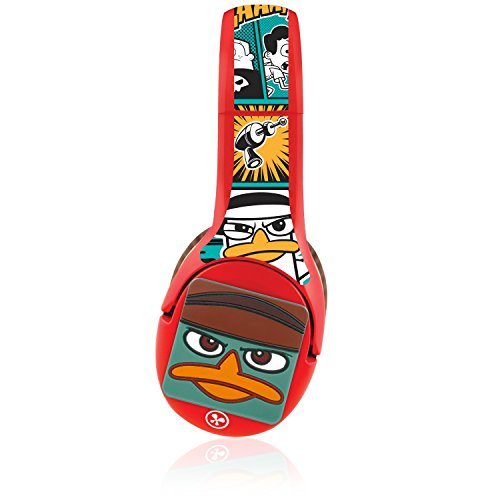 Nabi Headphone Wrap + 3d Kinabis - Phineas And Ferb - Supports Headphone - Dirt Resistant, Scratch Resistant, Damage Resistant (hpwp-phfrb1-01-fa13)