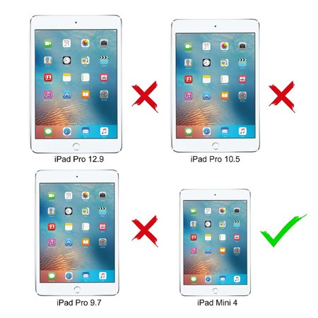 Cribun iPad Mini 4 Waterproof Case,IP68 Waterproof iPad Mini 4 Waterproof Case with Adjustable Tablet Stand Built-in Screen Protector - image 2 of 7
