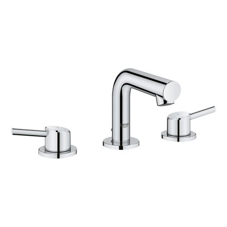Grohe Concetto 20572001 Widespread Bathroom Sink Faucet