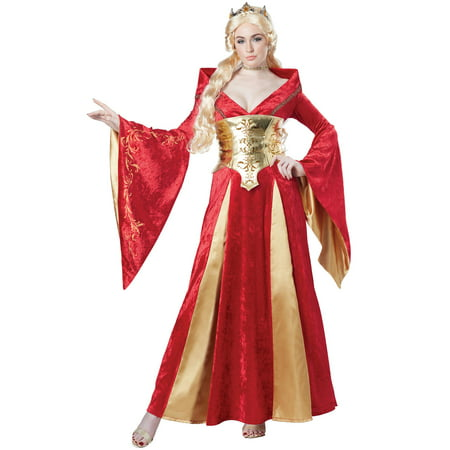 Female Medieval Costumes (Medieval Queen Adult Costume)