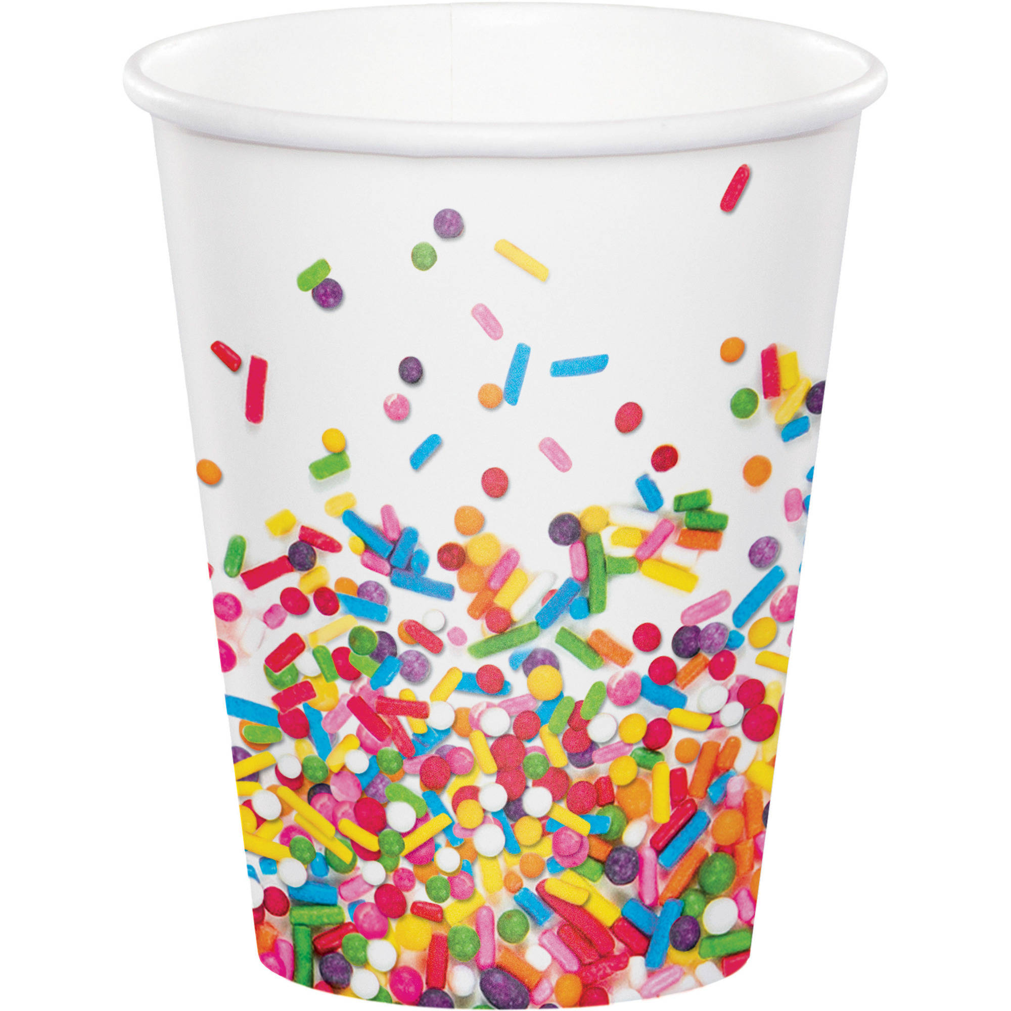 Confetti Sprinkles Cups, 8-Pack