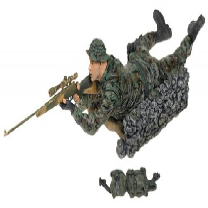 MARINE CORPS RECON SNIPER * CAUCASIAN VARIATION * McFarlane's Military Redeployed Series 1 Action Figure &... by
