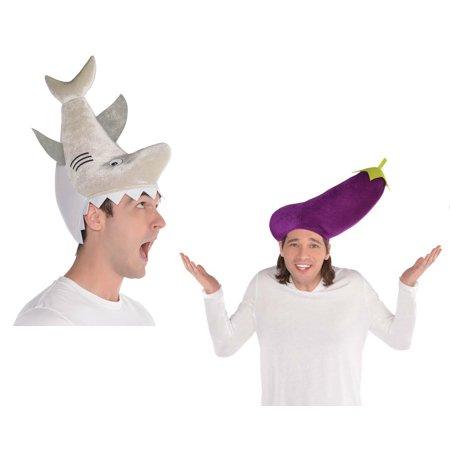 Amscan Shark and Egg Plant Funny Hat (Men / Women) (Shark Eggs For Sale)