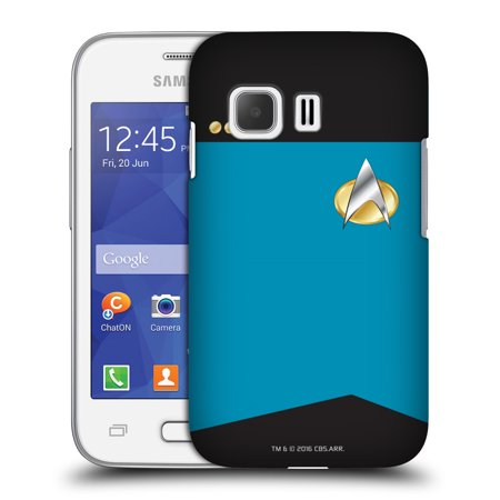 OFFICIAL STAR TREK UNIFORMS AND BADGES TNG HARD BACK CASE FOR SAMSUNG PHONES 3 (Star Trek Tng Uniforms)