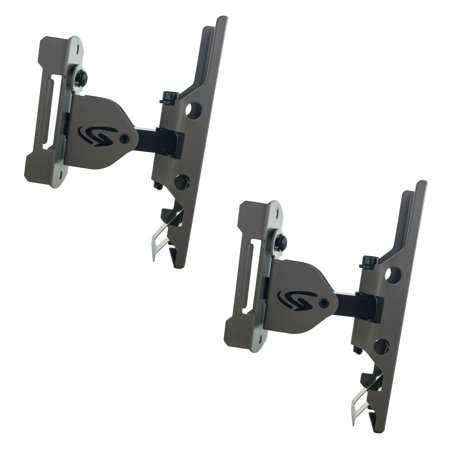 Genius Game Trail Hunting Camera Metal Universal Genius Pan-Tilt Mount (2 Pack) (Game Camera Mount)