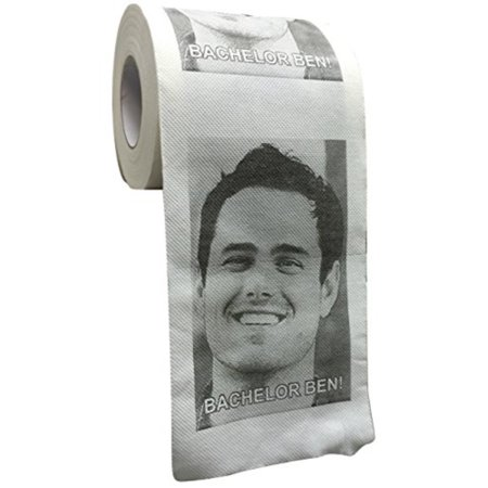 Bachelor Ben Novelty Tissue / Toilet Paper - A little daily reminder of the Best Bachelor Ever!! - Ben (Best Selling Toilet Paper)