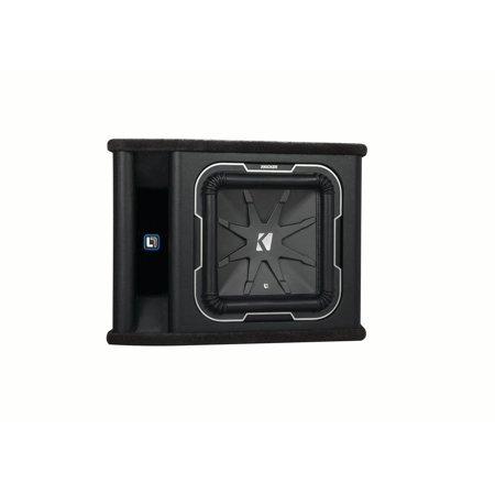 kicker q-class vl712 kicker l7 12-inch subwoofer in vented enclosure, 2-ohm