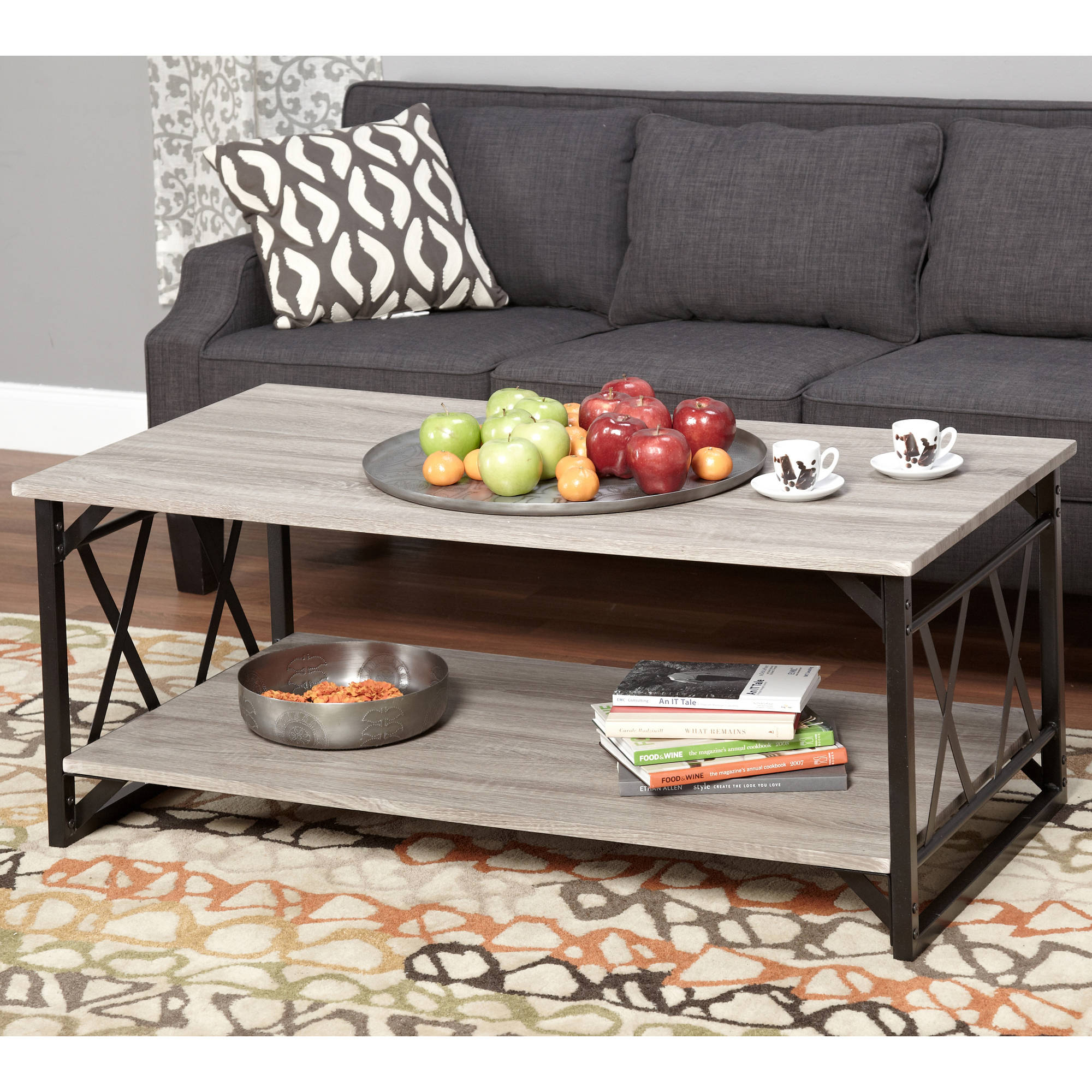 Jaxx Collection Coffee Table Multiple Colors Walmart