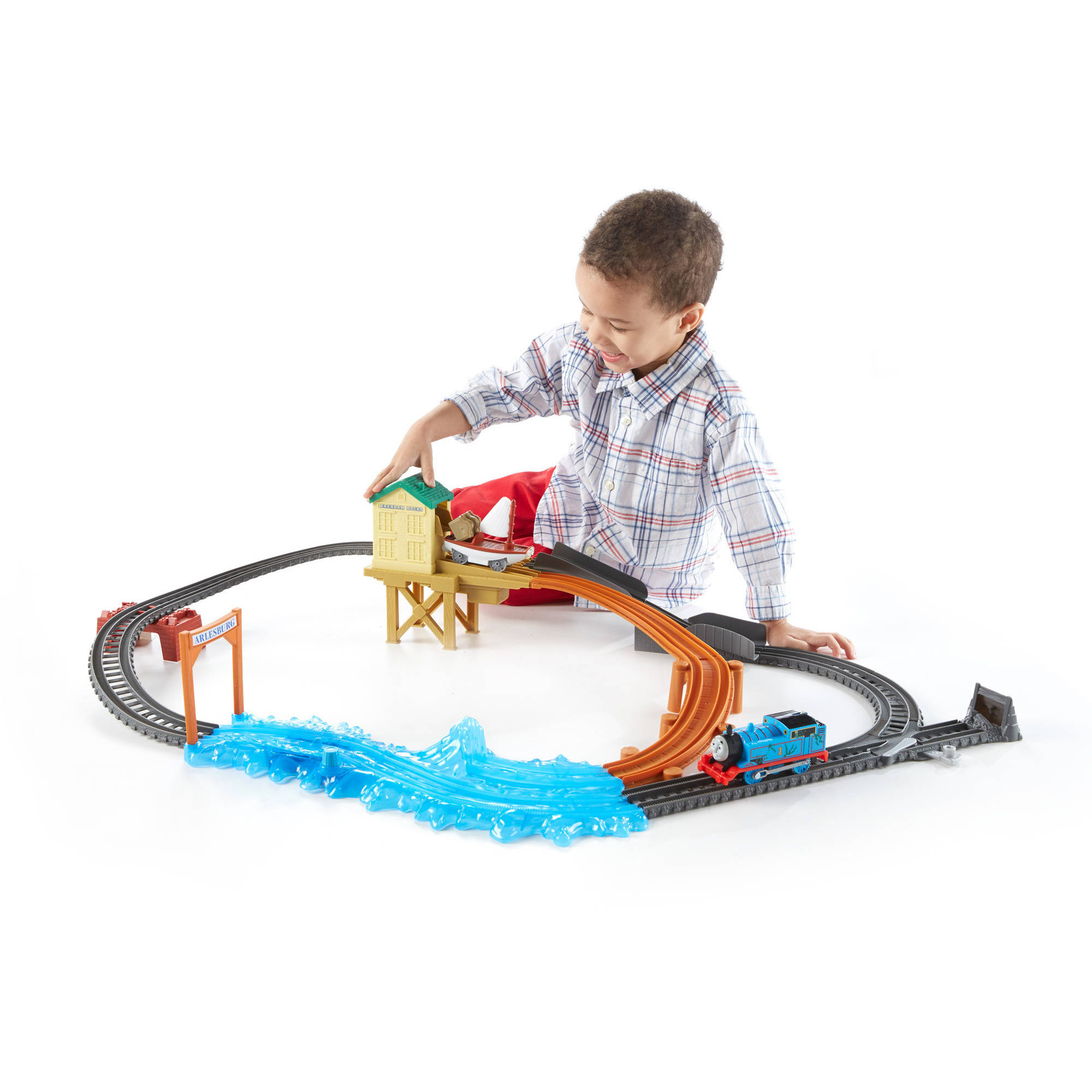 Fisher price thomas amp friends trackmaster treasure chase set new - Fisher Price Thomas Amp Friends Trackmaster Treasure Chase Set New 11