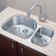 Empire Industries SP-4 Double Basin Undermount Kitchen Sink