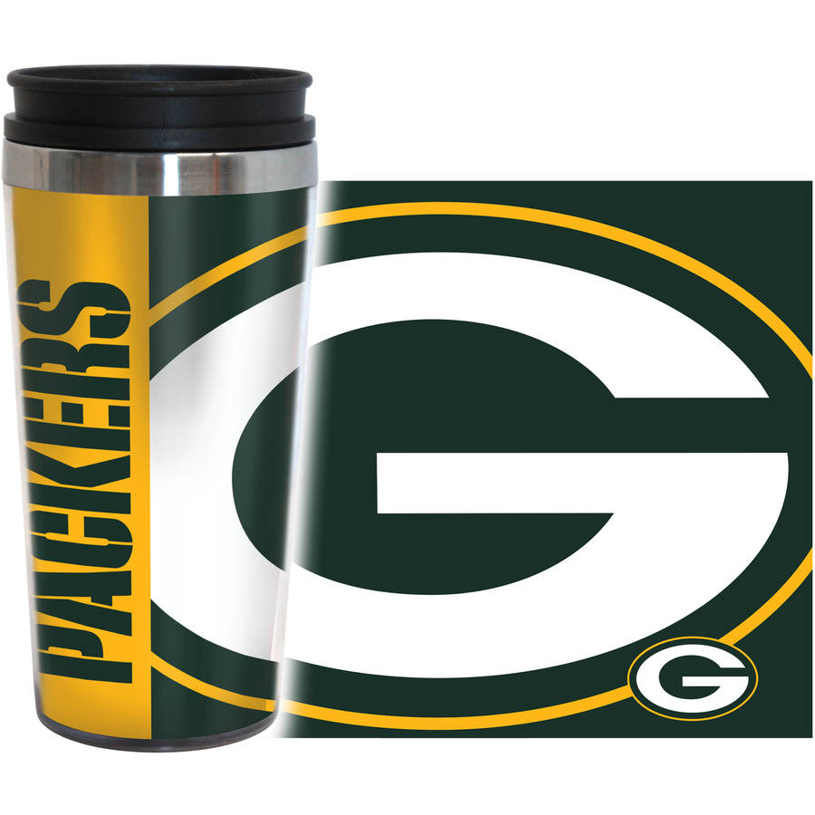 NFL Green Bay Packers 2-Pack Hype Travel Tumbler