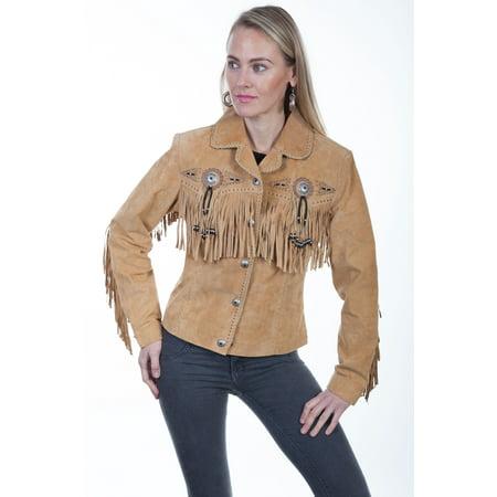 Women's Scully Boar Suede Jacket L152 Tall Boar Suede Western Coat Jacket