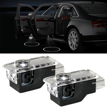 LANBOWO 1 Pair Lights LED Logo Light Shadow Projector Car Door Courtesy  Laser for Audi A1 A4 A5 A6 A7 A8 Q3 Q5 Q7 R8 TT