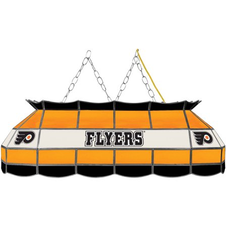 "NHL Handmade Tiffany Style Lamp, 40"", Philadelphia Flyers by"