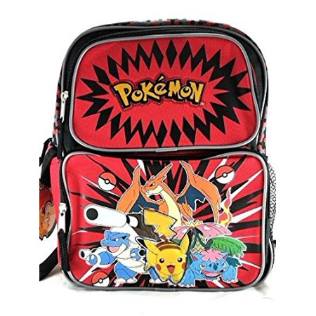 Small Backpack - - Pikachu Plusle & Minun 12 School Bag New 850088-2