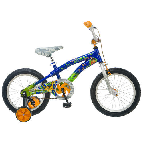 "16"" Boy's Diego Bicycle, Blue/Silver"