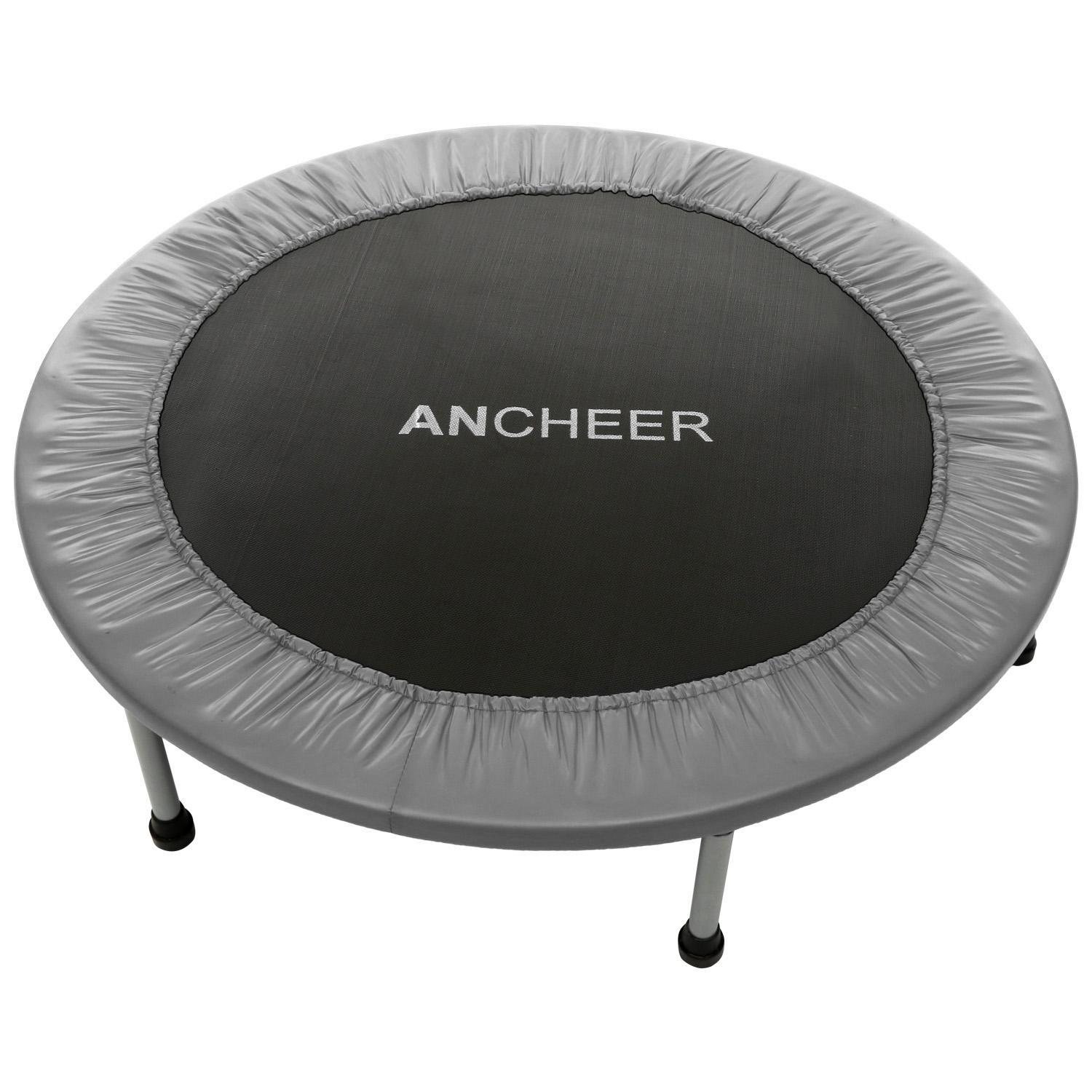 "Clearence&Sale!!! 38"" Folding Trampoline with Safety Pad HFON"