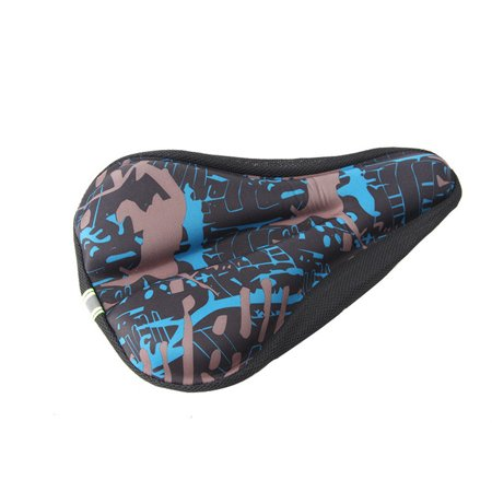 Awesome New Wider Bicycle Silicone Cushion Soft Pad Bike Silica Gel Seat Saddle Cover Machost Co Dining Chair Design Ideas Machostcouk
