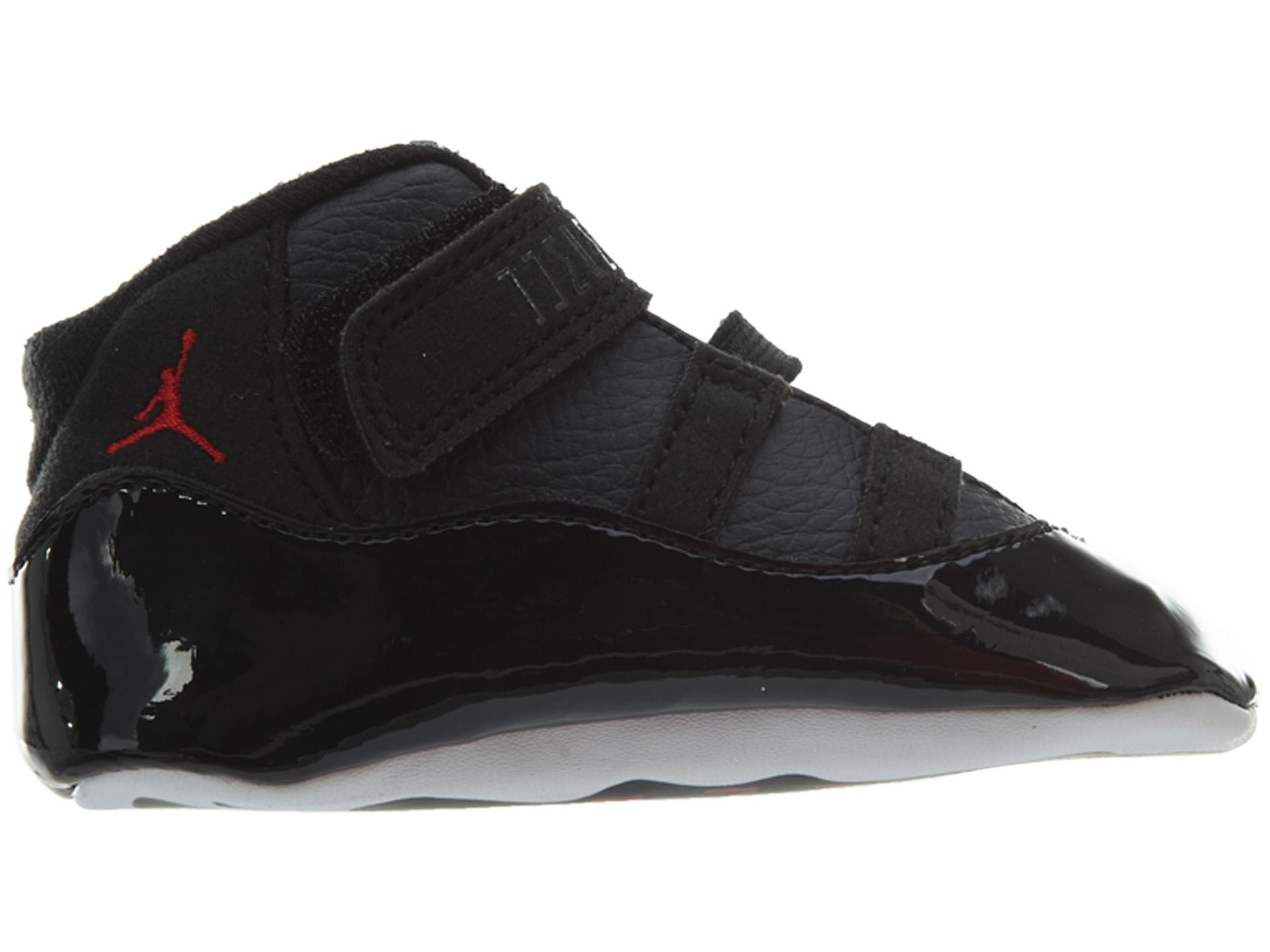 d60b9b64e78 Jordan - Nike Air Jordan 11 Retro  72-10  Infant Gift Pack Black Shoes  378049-002 Size 2 - Walmart.com