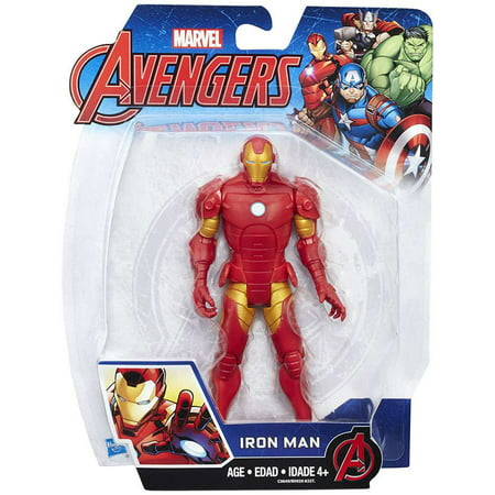 AVN 6 INCH IRON MAN FIGURE (Iron Man 2 Mark V Action Figure)