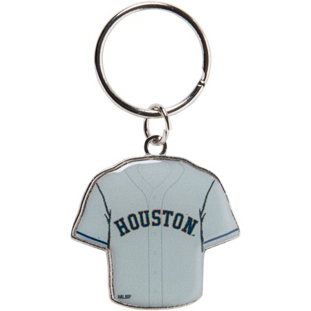 Houston Astros Reversible Home/Away Jersey Keychain - No Size