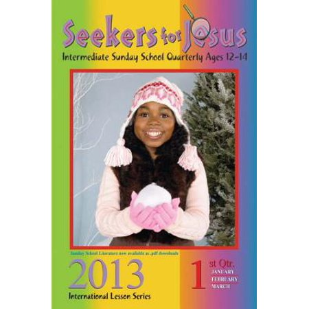 Seekers for Jesus 1st Quarter 2013 - (Water Quarter)