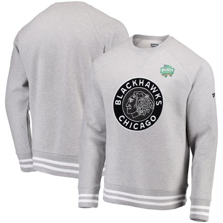 Chicago Blackhawks Fanatics Branded 2019 NHL Winter Classic Raglan Pullover  Sweatshirt - Heathered Gray - Walmart.com 780651b09
