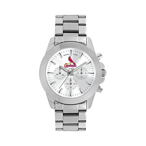 Gametime Women's Game Time Knockout Series MLB St Louis Cardinals (One Size), stainless steel