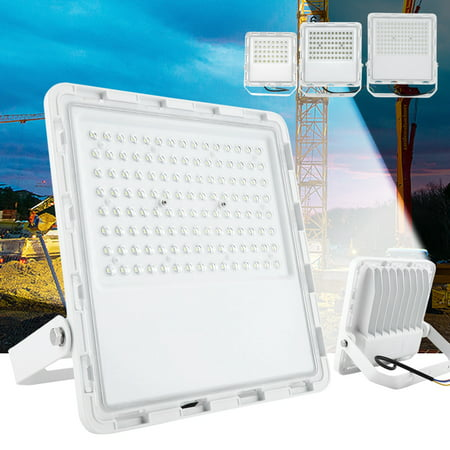 OTVIAP Waterproof LED Floodlight Super Bright Outdoor Work Lights LED Bulb Garden Lamp 30W/50W/100W