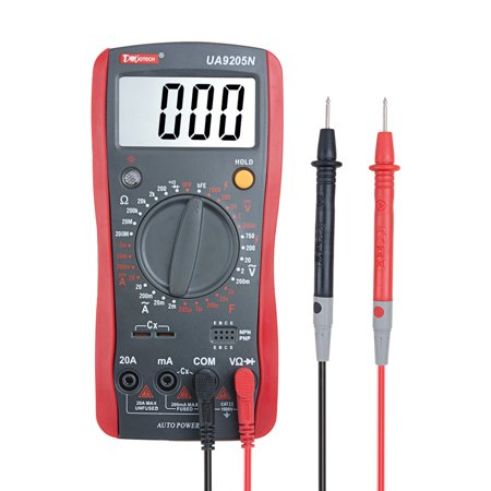 Digital Multimeter Voltmeter Ammeter Capacitance Tester 30 Range Auto Power off