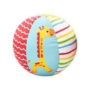 Hand Catching Ball Multicolored Rattle Toy Ball Plush Bell Appease Ball