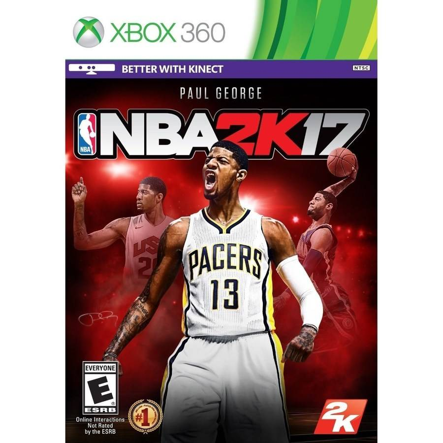 NBA 2K17 (Xbox 360) Take Two, 710425497742