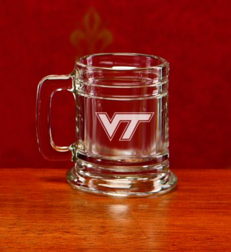 NCAA - Virginia Tech Hokies 1 oz Deep Etched Colonial Shot Mug