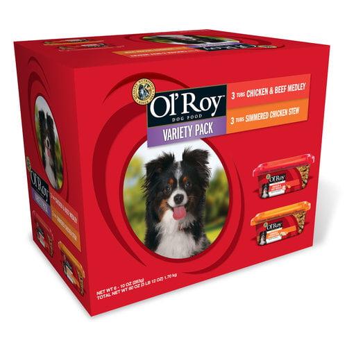 Ol'Roy Variety Pack, 10 oz, 6pk