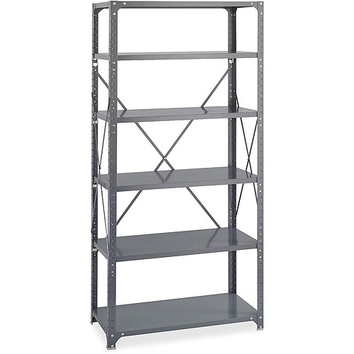 Safco Commercial Shelf Kit, Dark Grey