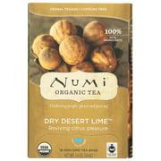 (6 Pack) Numi Tea Dry Dessert Lime Herbal Teasan, 18 Bag