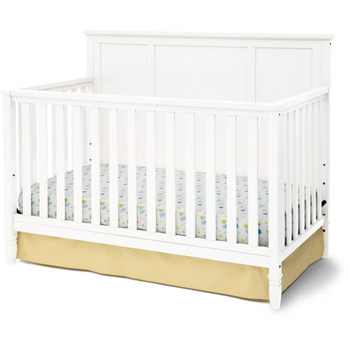 Delta Children Epic 4-in-1 Fixed-Side Convertible Crib, (Choose Your Finish)