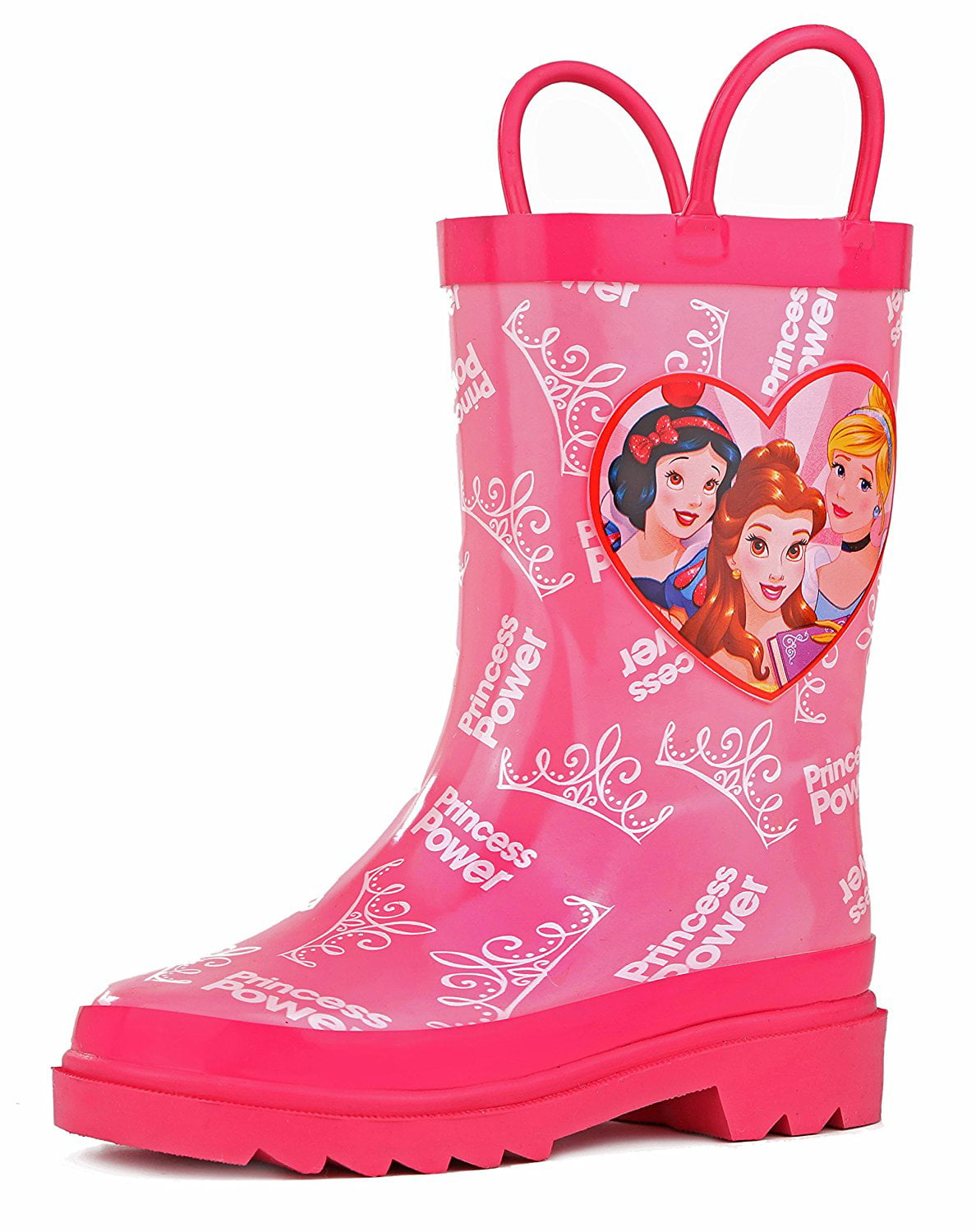 Disney Kids Girls\' Princess Character Printed Waterproof Easy-On ...