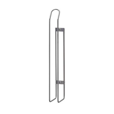 Recess Mount Door Holder - Household Essentials Cabinet Door Paper Towel Holder Mount