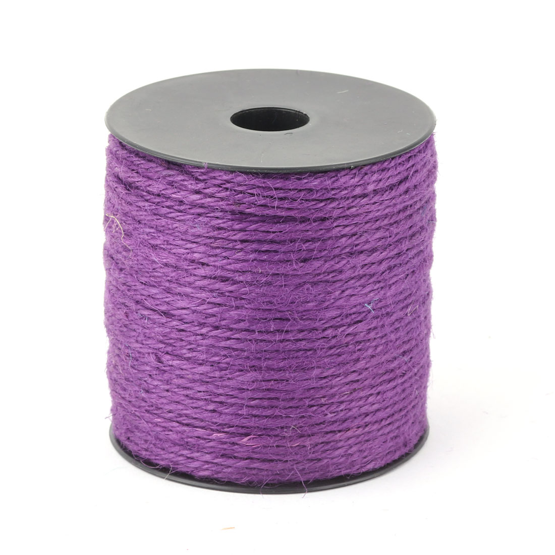 Wedding Decor Gift Wrapping Burlap String Twine Ribbon Roll Purple 100M Length
