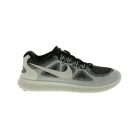 fe1e98ddf8e18 Nike Women s Free Rn 2017 Le White   - Black Ankle-High Fabric Running Shoe  ...