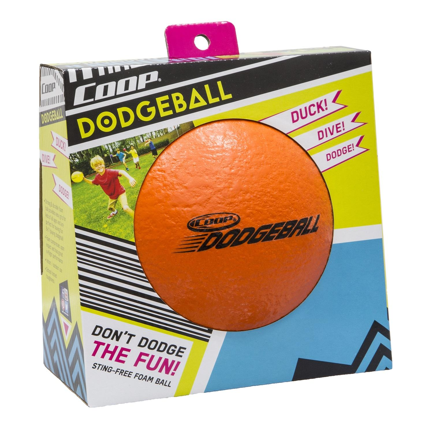 "6"" Solid Orange Textured Sting-Free Outdoor Yard Sport Dodgeball"