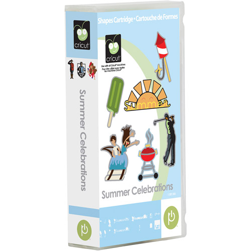 Cricut Summer Celebrations Cartridge