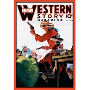 Buy Enlarge 0-587-10649-2P12x18 Western Story Magazine- The Card Game- Paper Size P12x18