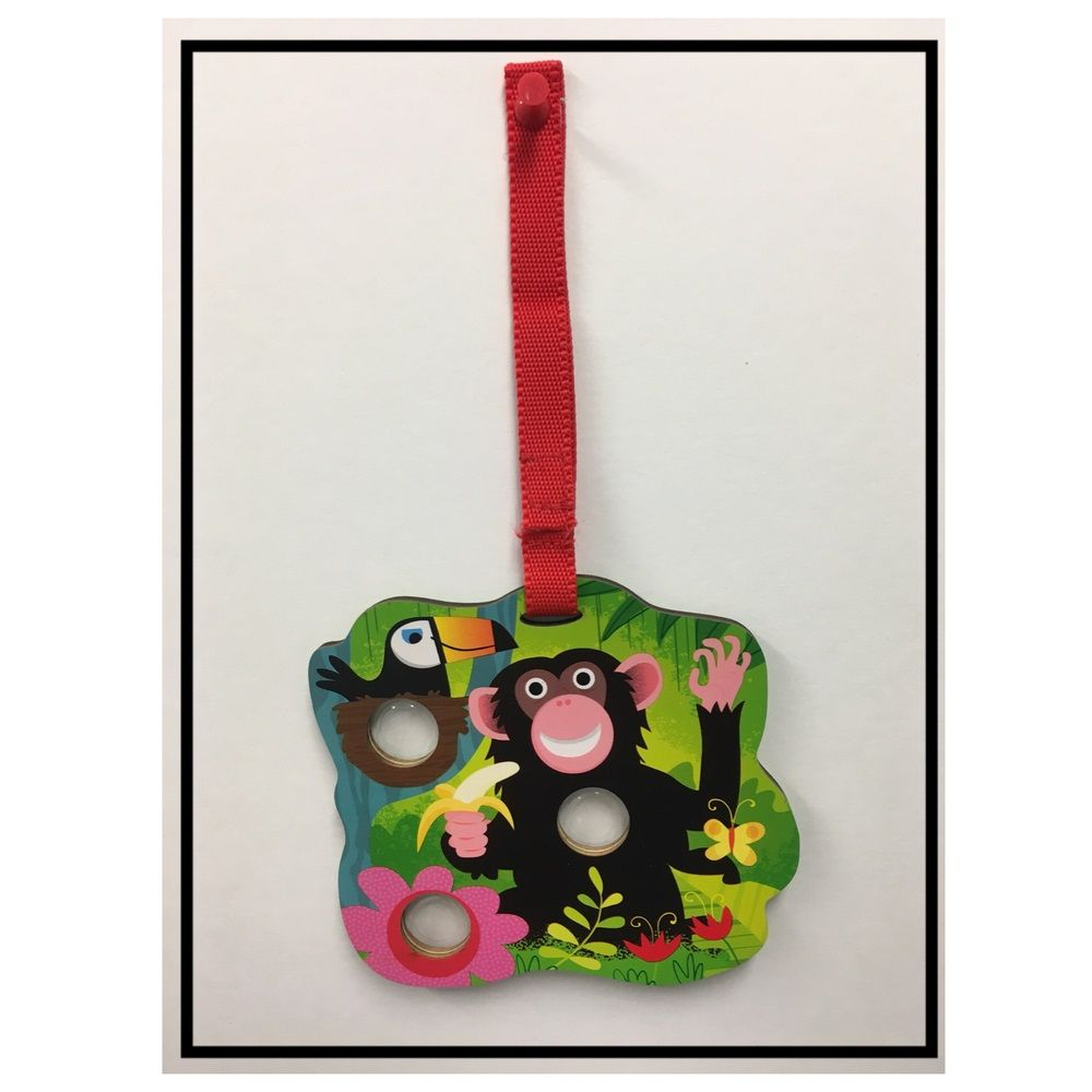Poke Poppers: Monkey - Toddler Toy by Innovative Kids (697233004679)