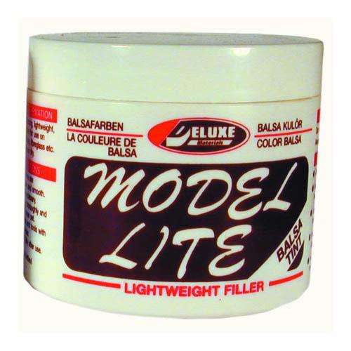 Model Lite Balsa Filler, Balsa Brown: 240cc Multi-Colored