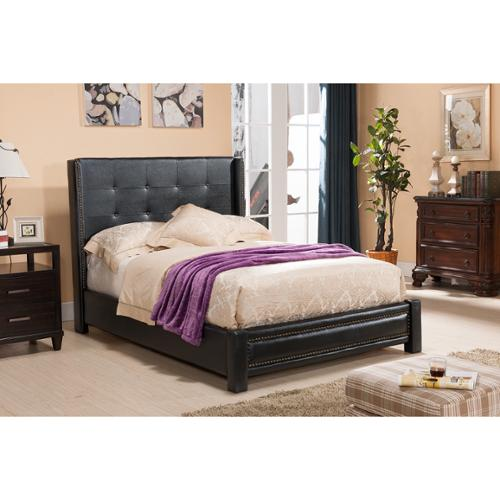K and B Furniture Co Inc K & B King Upholstered Bed