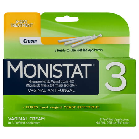 Monistat 3-Day Yeast Infection Treatment Pre-filled Cream