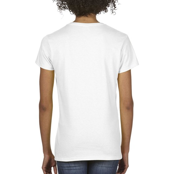 Women S Classic Short Sleeve V Neck T Shirt